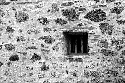 Photograph - San Juan Window Bw by Mary Bedy