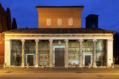 Tomb Photograph - San Lorenzo Fuori Le Mura by Fabrizio Troiani