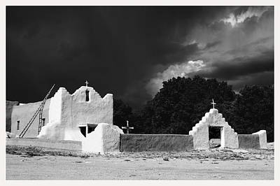 San Lorenzo Picuris Pueblo New Mexico Art Print