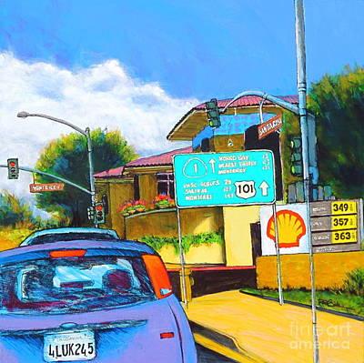 San Luis Obispo Ca Art Print
