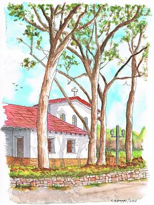 San Carlos Painting - San Luis Obispo Mission In San Luis Obispo, California by Carlos G Groppa