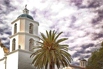 San Luis Rey Mission Art Print