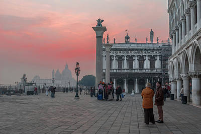 Photograph - San Marco At Dusk. Venice by Juan Carlos Ferro Duque