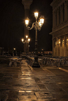 Photograph - San Marco Cafe by Marion Galt