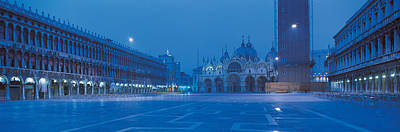 Piazza San Marco Photograph - San Marco Square Venice Italy by Panoramic Images