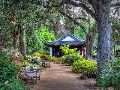 Photograph - San Marino - Huntington Botanical Gardens 007 by Lance Vaughn
