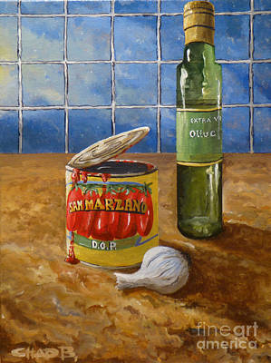 Painting - San Marzano by Chad Berglund