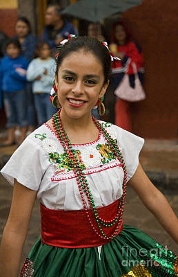 Photograph - San Miguel Archangel Parade - Mexico by Craig Lovell