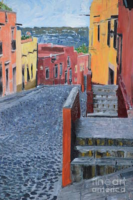 Photograph - San Miguel Stroll by Brian Boyle