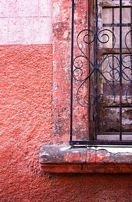 Bar San Miguel Photograph - San Miguel Window2 by CJ Middendorf
