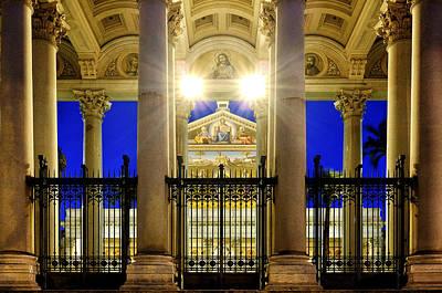Photograph - San Paolo Fuori Le Mura by Fabrizio Troiani
