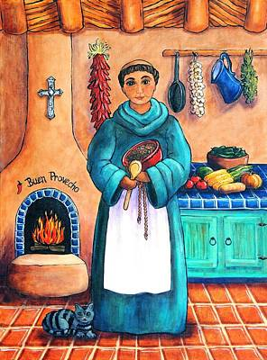 Kiva Painting - San Pascual by Candy Mayer