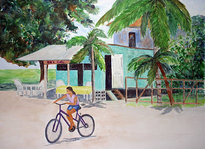 Painting - San Pedro Cafe by Patricia Beebe