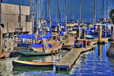 Photograph - San Pedro Harbor by Richard J Cassato