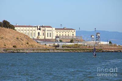 San Quentin Prison In Marin County California 5d29489 Art Print
