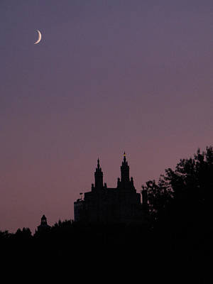 Photograph - San Remo And The Moon by Cornelis Verwaal