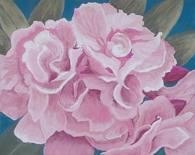 Painting - San Salvador Floral by Patricia Beebe