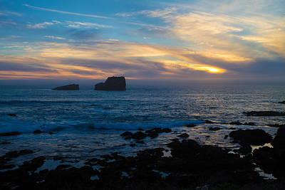 Photograph - San Simeon Coastal View  by Duncan Selby