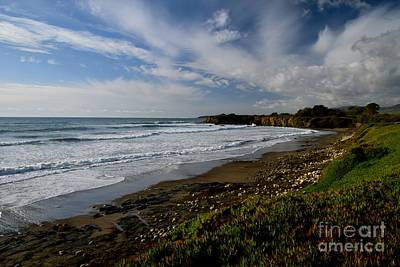 Photograph - San Simeon Sea And Sky by Johanne Peale