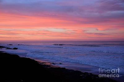 Photograph - San Simeon Sunrise by Johanne Peale