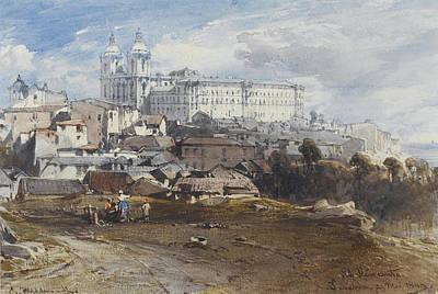 Vicente Painting - San Vicente. Lisbon by Eduard Hildebrandt