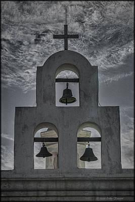 Photograph - San Xavier Bells by Erika Fawcett