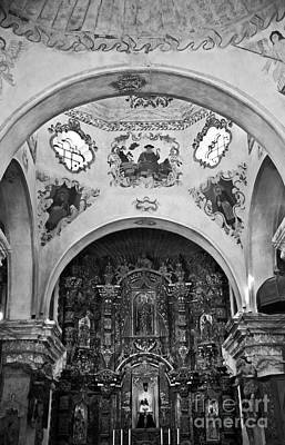 Photograph - San Xavier Del Bac #18 by Lee Craig