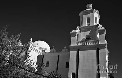 Photograph - San Xavier Del Bac #2 by Lee Craig