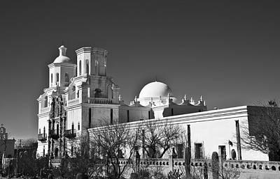 Photograph - San Xavier Del Bac #4 by Lee Craig