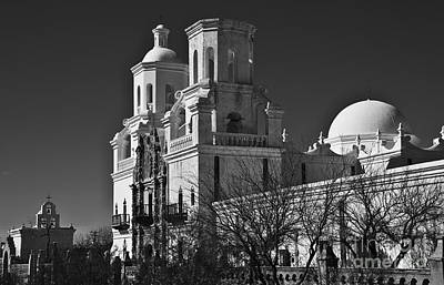 Photograph - San Xavier Del Bac #6 by Lee Craig