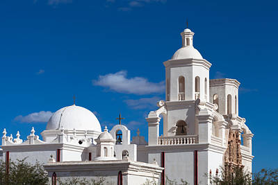 Photograph - San Xavier Del Bac Architecture by Ed Gleichman