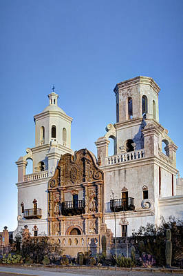 Photograph - San Xavier Del Bac by J Gregory Sherman