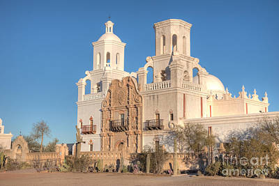 Photograph - San Xavier Del Bac Mission II by Clarence Holmes