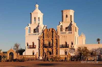 Photograph - San Xavier Del Bac Mission IIi by Clarence Holmes