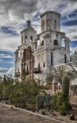 Mission San Xavier Del Bac Photograph - San Xavier Del Bac by Stephen Stookey