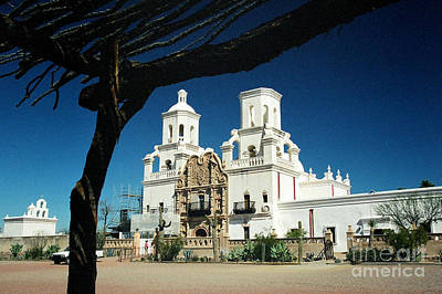 Photograph - San Xavier Del Bac by Frank Townsley
