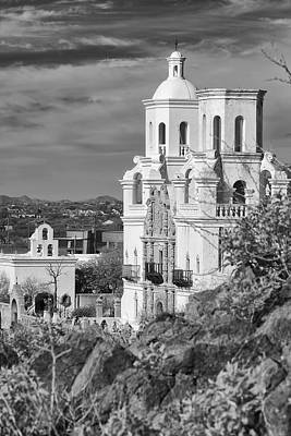 Photograph - San Xavier Mission And Chapel by Michael Yeager