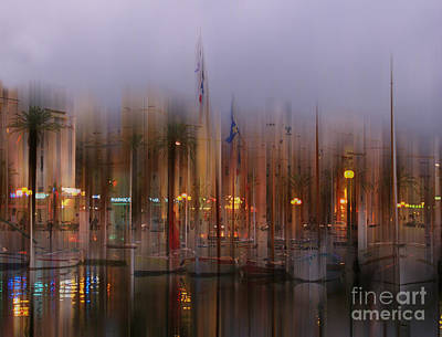 Photograph - Sanary Surreal by Rod Jones