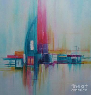 Sanctuary 11 Art Print by Elis Cooke
