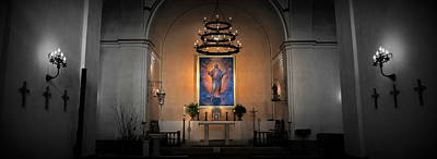 Christian Sacred Photograph - Sanctuary 4 -- Mission Concepcion by Stephen Stookey
