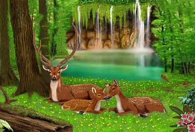 Sanctuary Art Print by Glenn Holbrook
