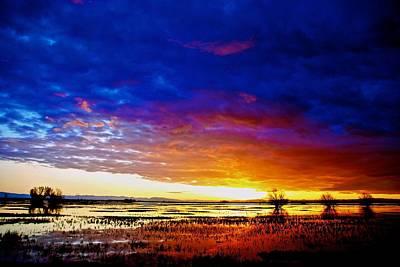 Photograph - Sanctuary Sunset by Eric Tressler