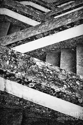Jesus Photograph - Sanctuary Zig Zag Staircase by Jose Elias - Sofia Pereira