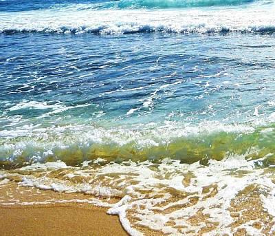 Photograph - Sand And Sea  by Stephanie Callsen