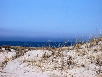 Sand And Sky Art Print by Catherine Gagne
