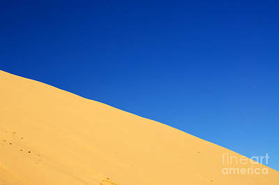 Sand Dunes Photograph - Sand And Sky by Gry Thunes