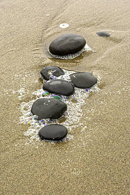 Photograph - Sand And Stones by Judi Baker