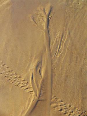 Stellar Interstellar Royalty Free Images - Sand Art Royalty-Free Image by Jeri lyn Chevalier