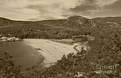 Photograph - Sand Beach Acadia National Park 3 by Glenn Gordon