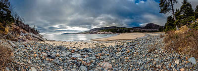 Photograph - Sand Beach At Acadia by Brent L Ander